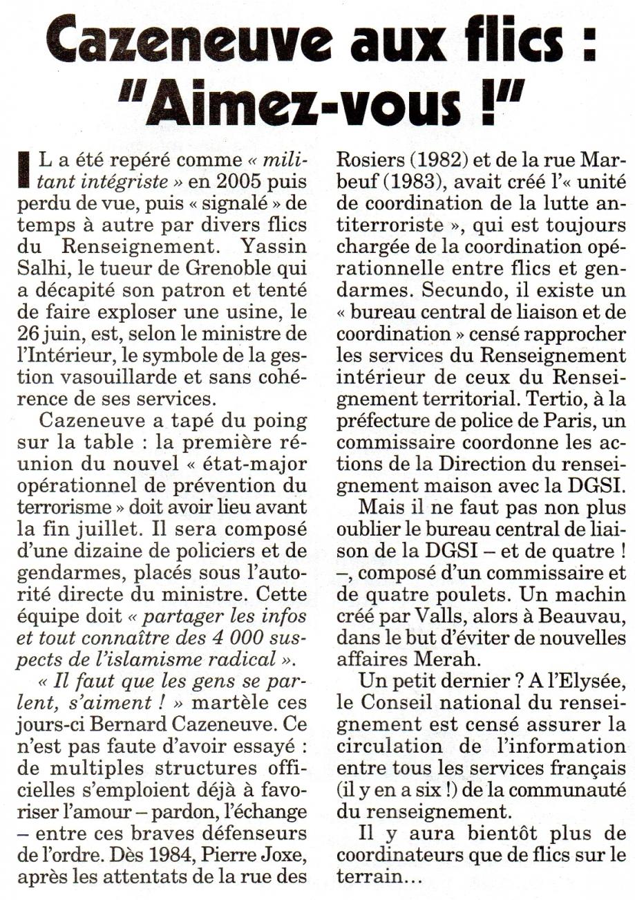 Cazeneuve aux flics Aimez-vous.jpg