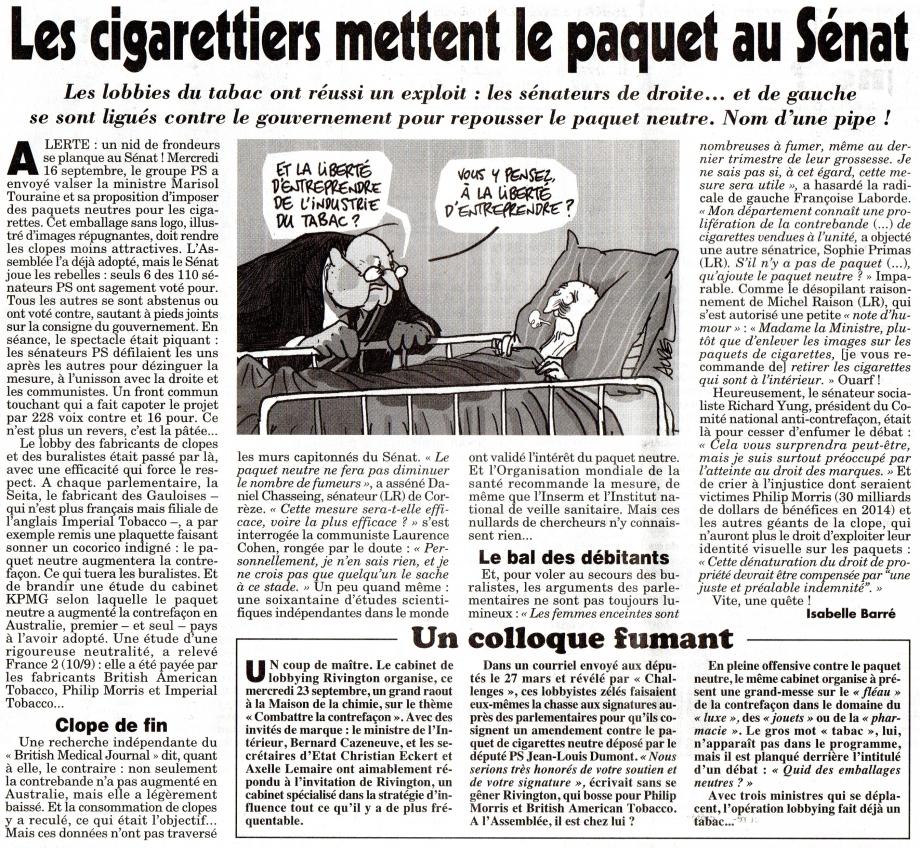 Les cigarettiers mettent le paquet au Sénat.jpg