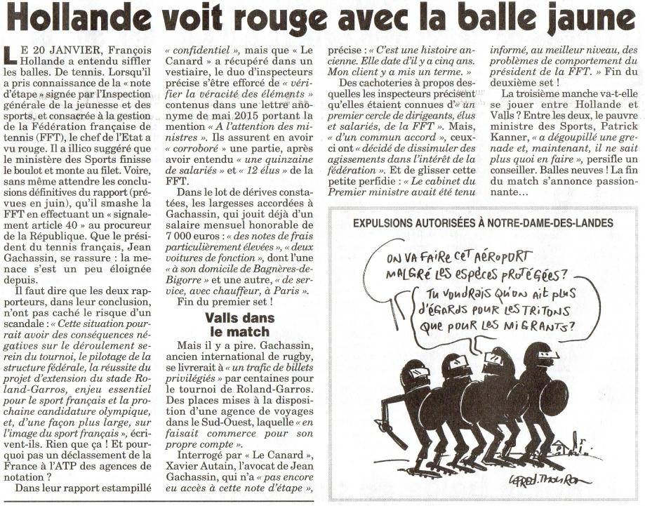 Hollande voit rouge avec la balle jaune.jpg