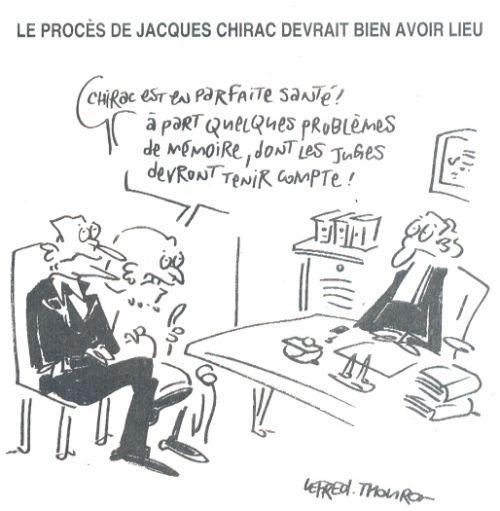 Le procès de Jacques Chirac devrait bien avoir lieu
