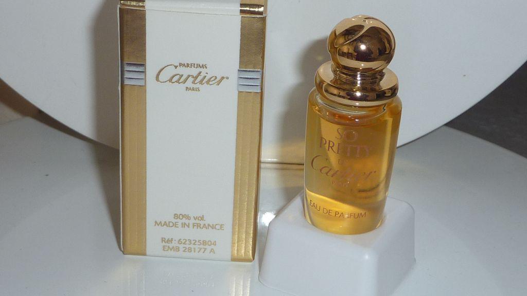 Cartier Miniature De Parfum
