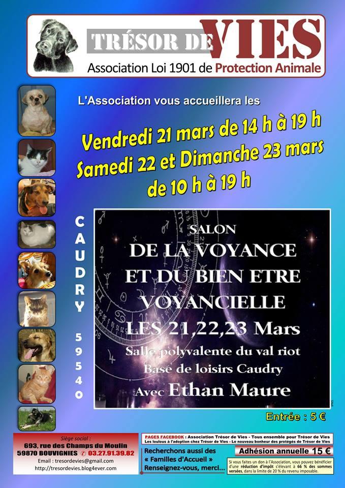 Salon de la voyance du 21 22 23 mars nous y serons for Salon de la voyance
