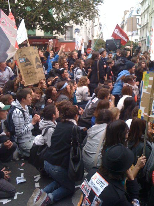 Manifestation à Paris des élèves (16/10/10) (3)