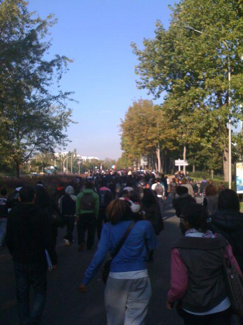 Manifestation à Créteil (18/10/10) (2)