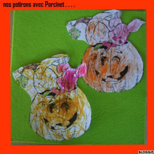 le potiron et Porcinet