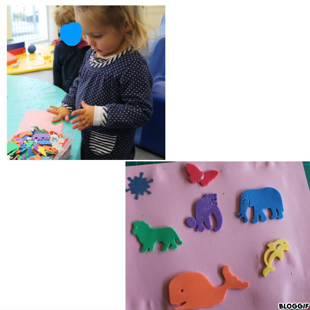fabrication pour le livre des petits