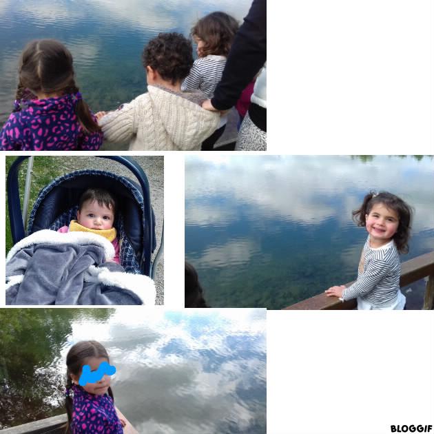 bord du lac Lamartine à Frouzins
