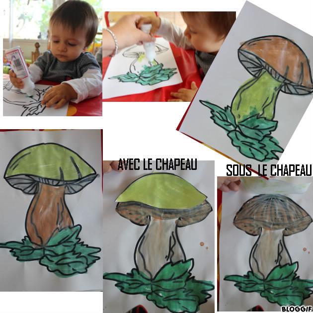 peinture le champignon