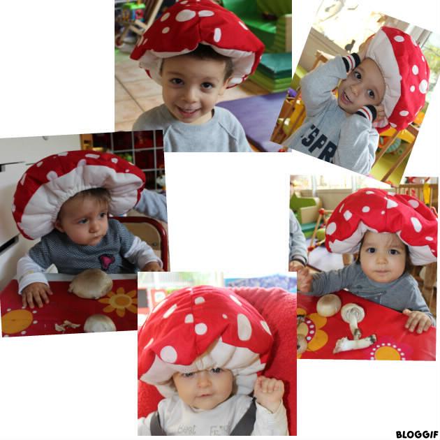 déguisement chapeau de champignon