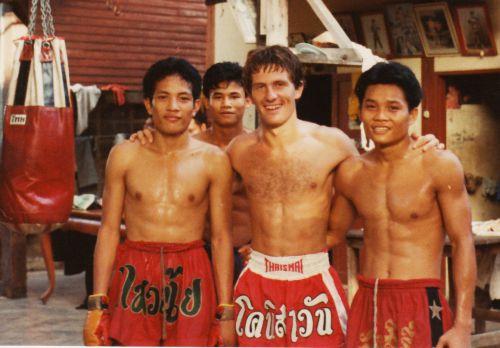 séjour au Jocky Gym de Bangkok 1984