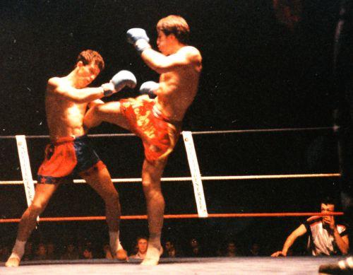 Championnat de France de Muay-Thaï : Brice Depierrepont (Swaying Naja Camp) vs Gérard Maillot (Belloni Gym)