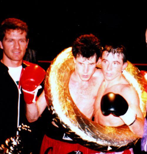 championnat du monde de kick-boxing : Didier Montoya (Swaying Naja Camp) vs Thomas Seiler ( Detlef Turnau Team -Allemagne)