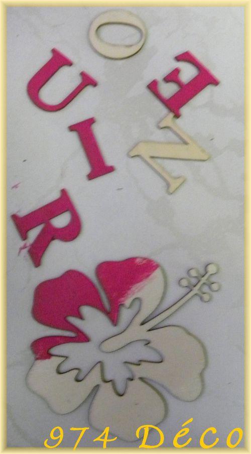 Lettres REUNION