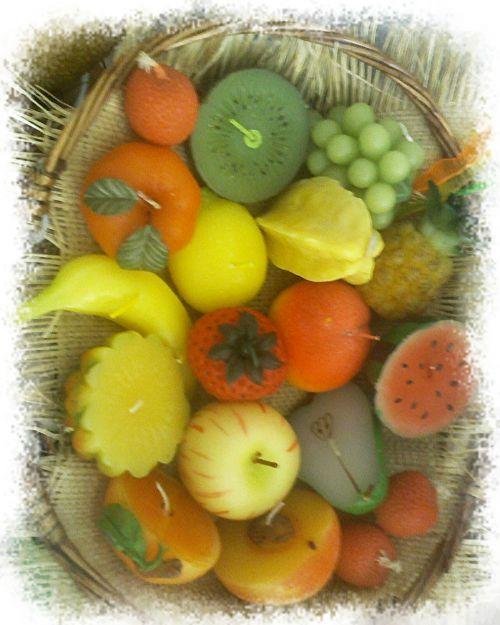 Bougies Fruits