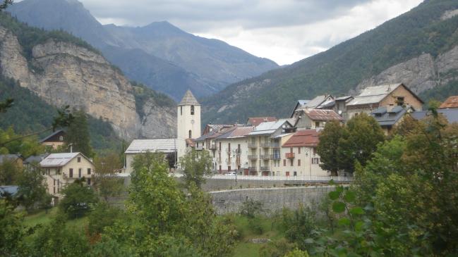 Village de St Martin d'Entraunes