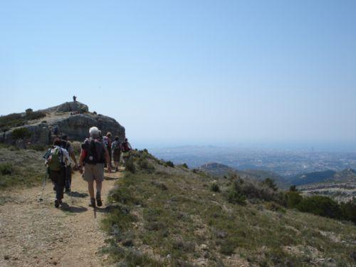 Vue sur Marseille au loin