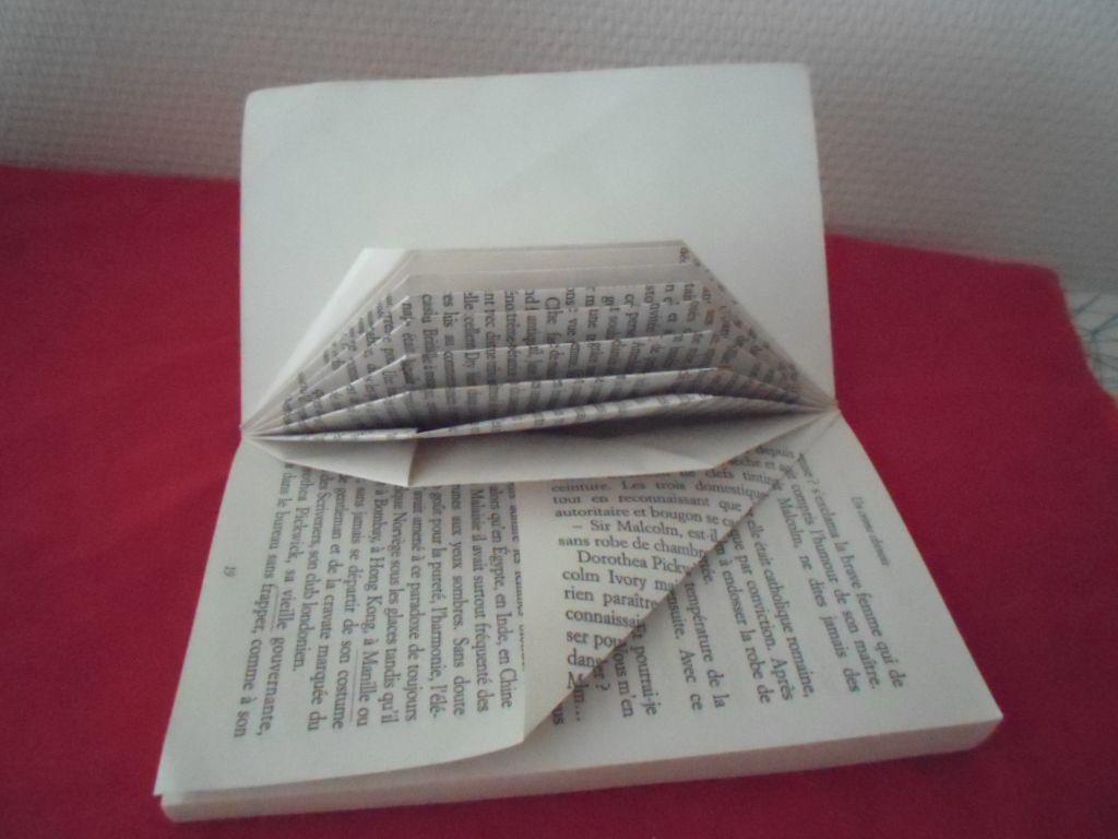 Pliage Livres De Poche Herisson Le Monde Du Crochet