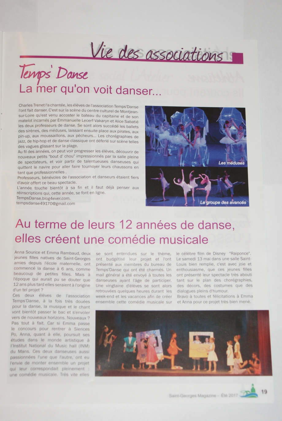 article ST georges mag juillet 2017.JPG