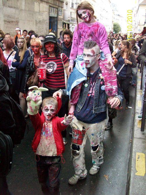 Le zombie walk est un évènement pour toute la famille