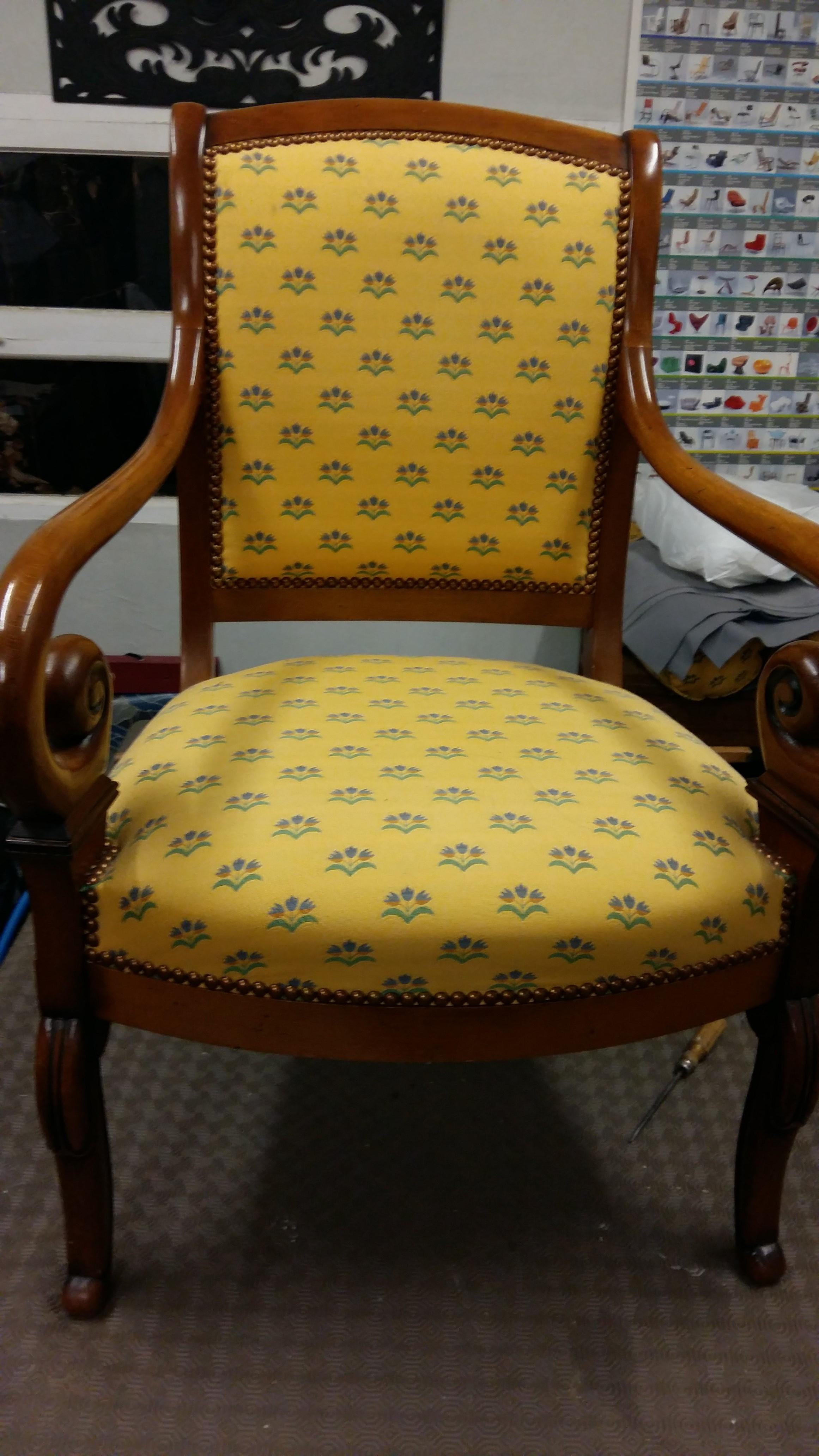 Restaurer Fauteuil Voltaire Moderne paire de fauteuil restauration - fauteuil et^patine