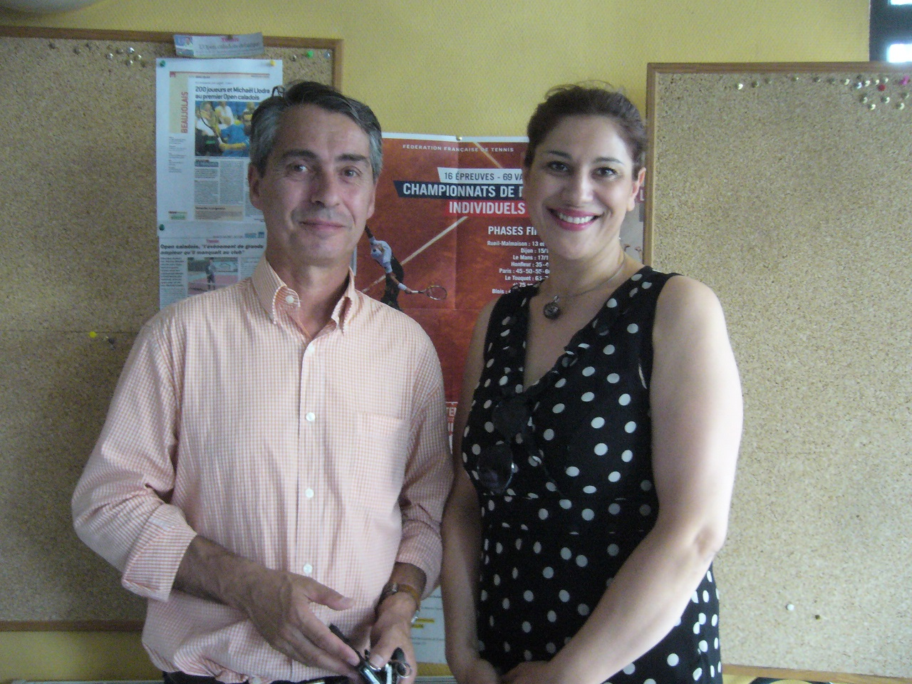 Le Docteur Bertrand Beaune et Nadjette Guidoum.jpg