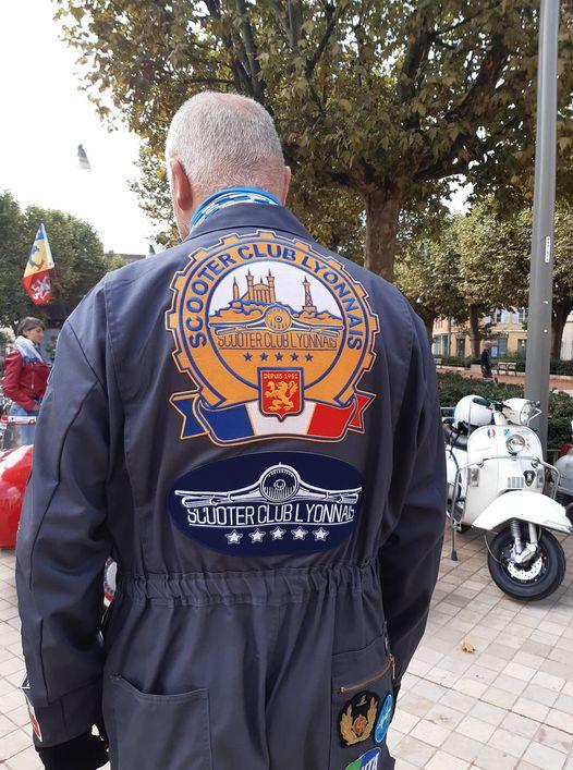 Ils se sont créés en 1951  fêtent leurs 70 ans et les 75 ans de la Vespa le Scooter club lyonnais 18 09 2021.jpg
