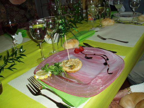 Crousillant de saumon au crumbel de poireaux