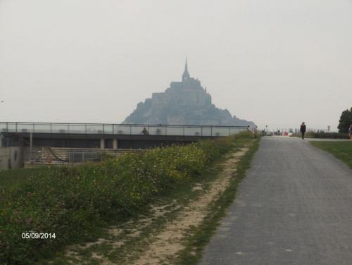 Mont St-Michel barrage et le Mont  HPIM1071.JPG