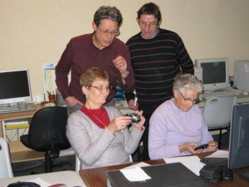 L'activité de l'atelier sur l'APN