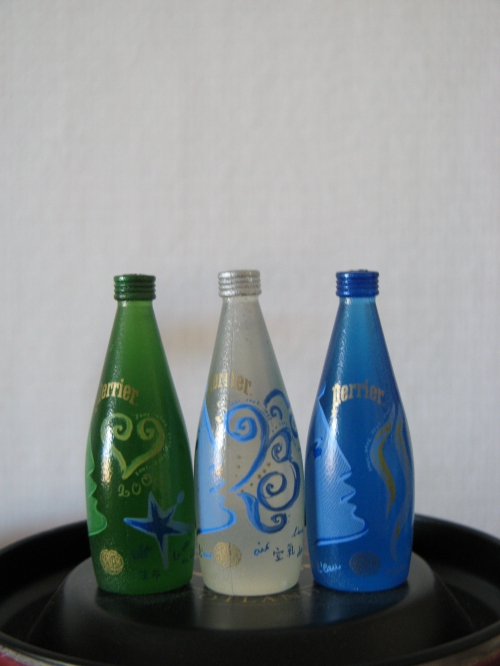 PERRIER MINI BOUTEILLE 2000 ABC .JPG