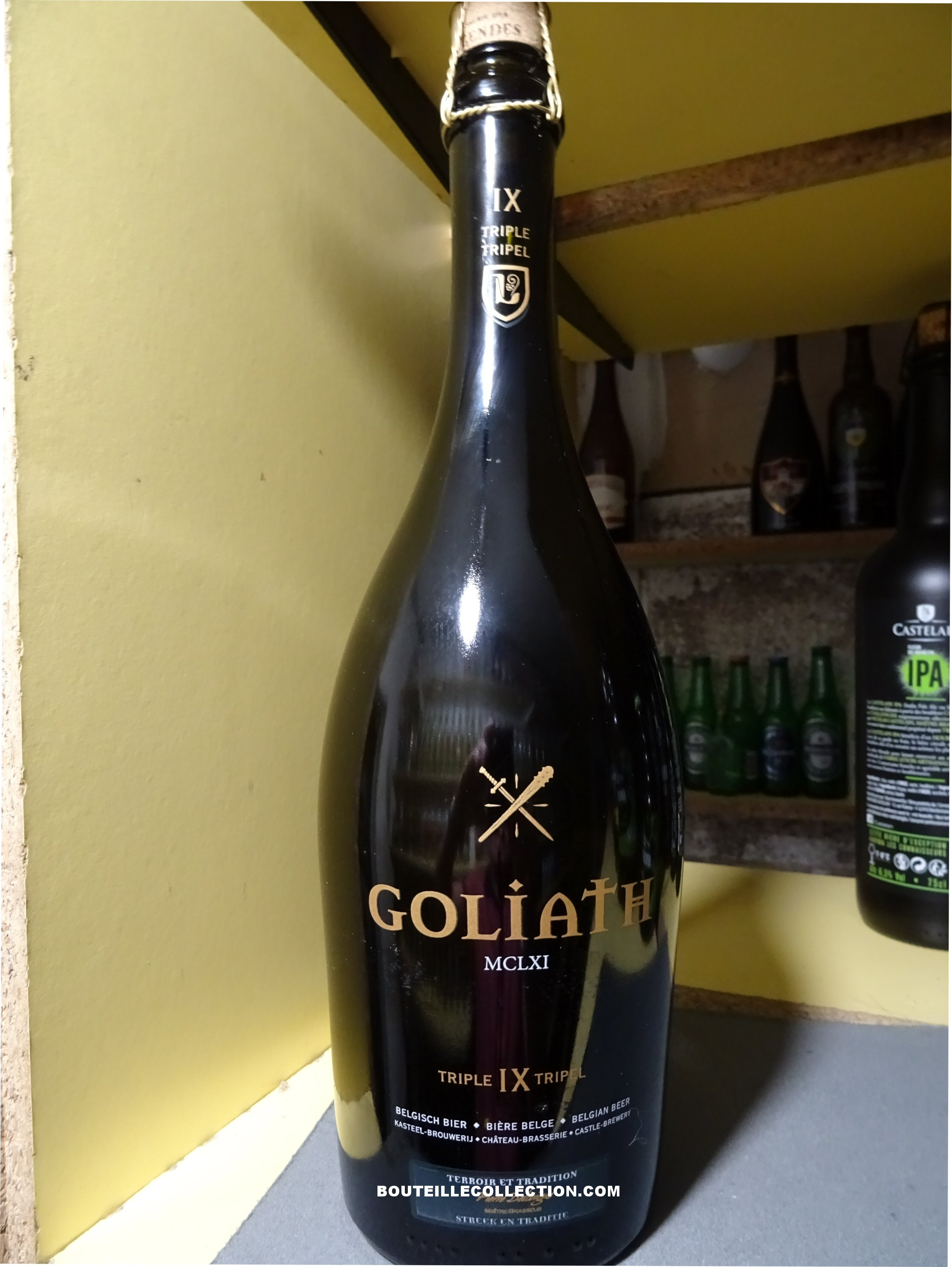 DES LEGENDES GOLIATH TRIPE IX TRIPEL 75CL B .JPG