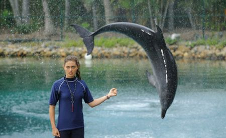 Cléo, assistante de dauphins !