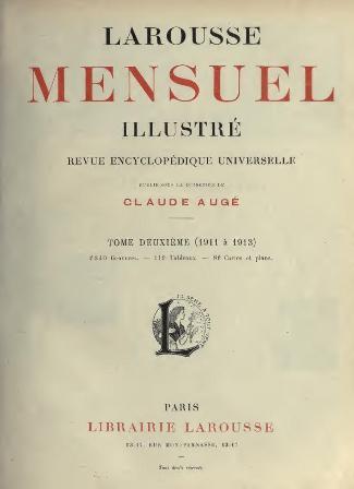 Claude Augé - Larousse mensuel illustré Tome II .jpg