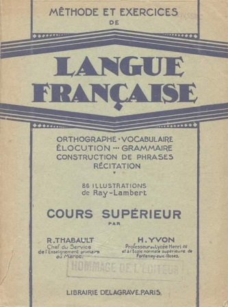Thabault-Yvon - Méthode et Exercices de langue française.jpg