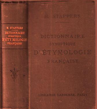 Henri Stappers - Dictionnaire synoptique d'étymologie française.jpg
