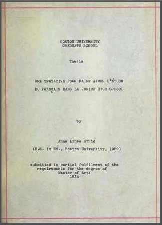 Anna Linea Strid - Une tentative pour faire aimer l'étude du français .jpg