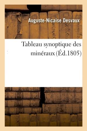 A. Desvaux - Tableau synoptique des minéraux.jpg