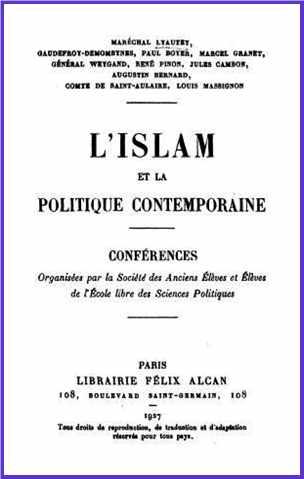 Lyautey Marechal - L Islam Et La Politique Contemporaine_003.jpg