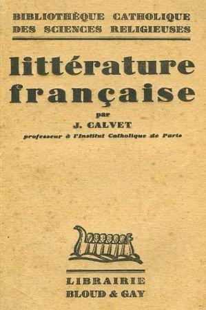 La littérature française - Jean Calvet.jpg