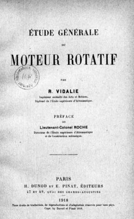 R. Vidalie  - Etude générale du moteur rotatif   .jpg