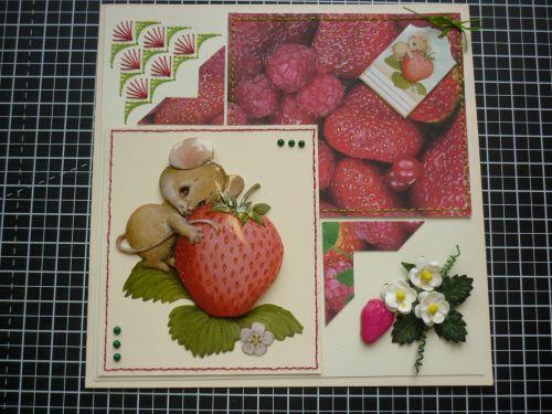 Tendance fraise.... Le printemps revient !!!!