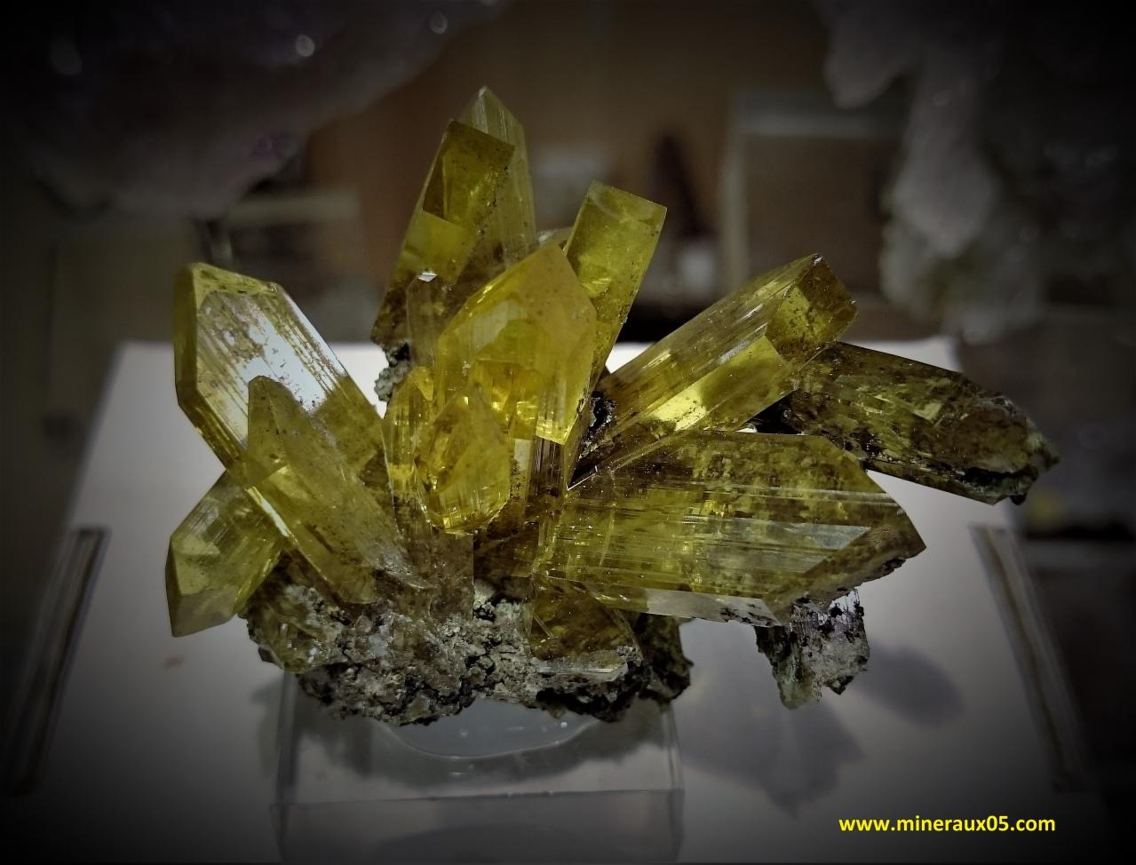 Les mineraux de mineraux05 - Salon mineraux sainte marie aux mines ...