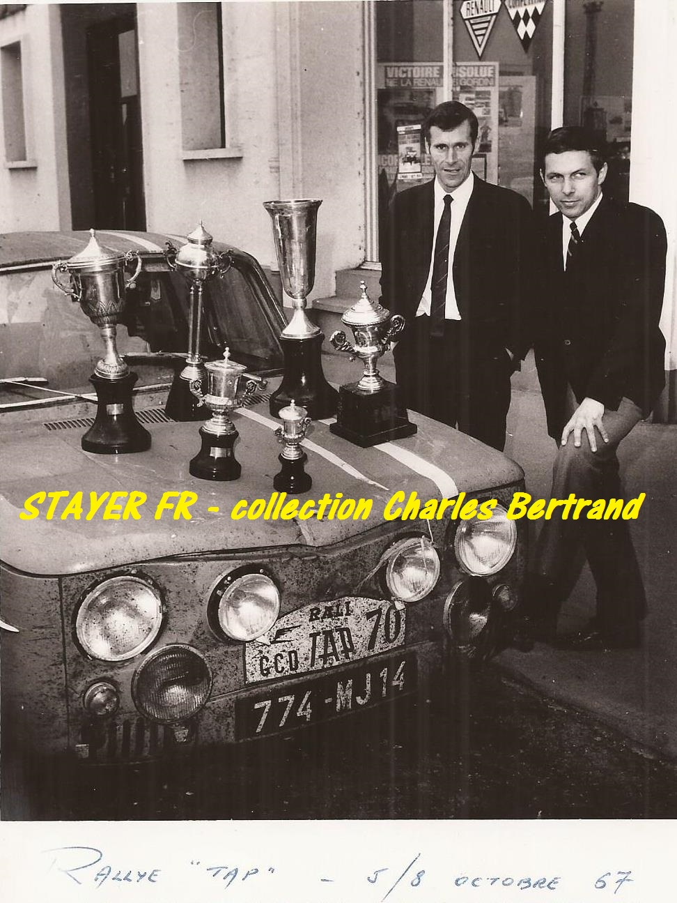 Bourdon - Bertrand avec la R8 Gordini