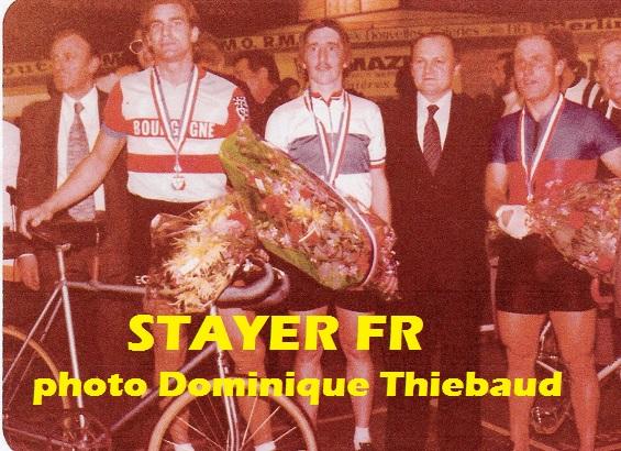 Grenoble 1979 : de gauche à droite Jean-Claude Rude, Dominique Thiebaud et Pierre Trentin