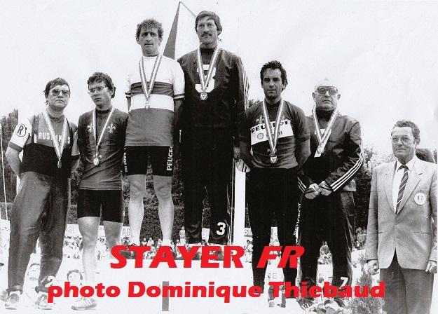 Commercy 1985, Dominique entre Bruno Garnier et Jean-Charles Vigne