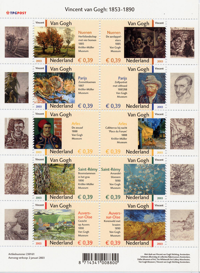 V Gogh Feuillet biographie pays-bas.JPG