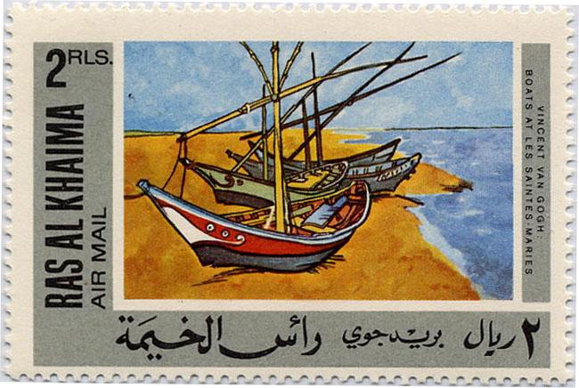 V Gogh barques Stes Maries Khaima.JPG