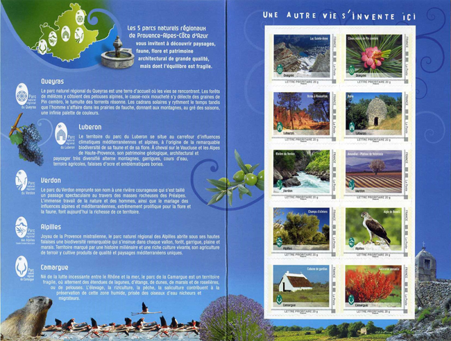 Collector Parcs naturels régionaux Provence Alpes Côte d'Azur 2013.jpg