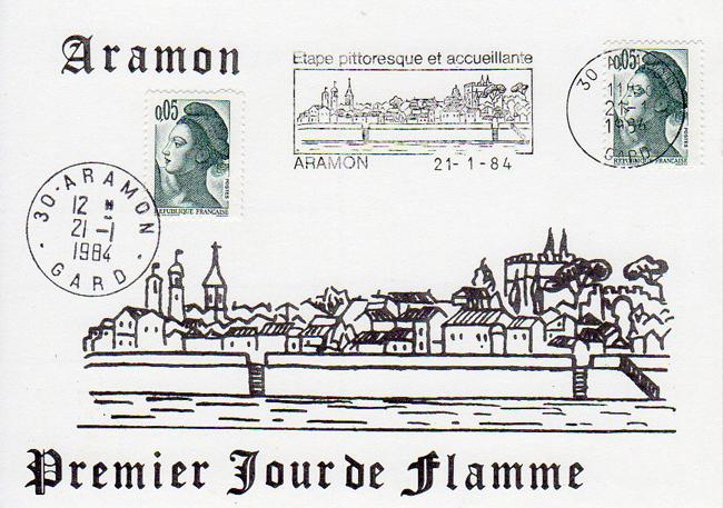 Aramon 1er jour fl 21 01 1984 650 px.jpg