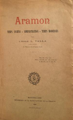 Aramon 1900 Abbé Valla.jpg